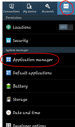 How do i clear my apps data and cache android once in the application manager click on the app you wish to clear the data for to open up its app settings in this example we will select the publicscrutiny Choice Image