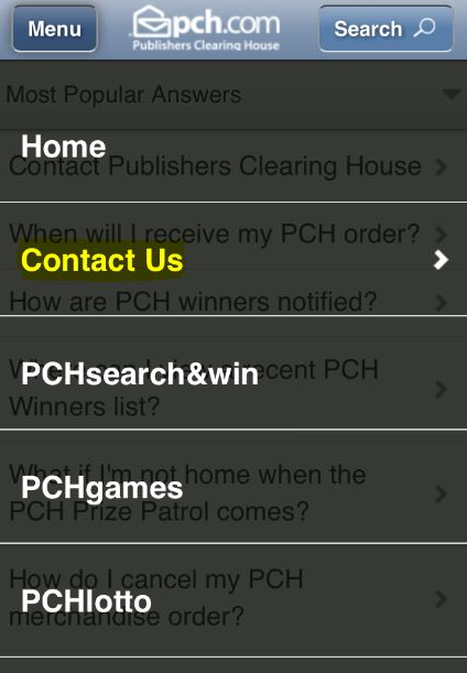 Publishers Clearing House Customer Service